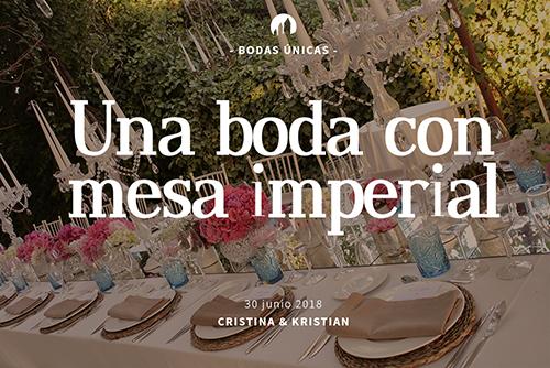 Boda de Cristina & Kristan